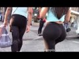chicks with phat asses and big boobs walking