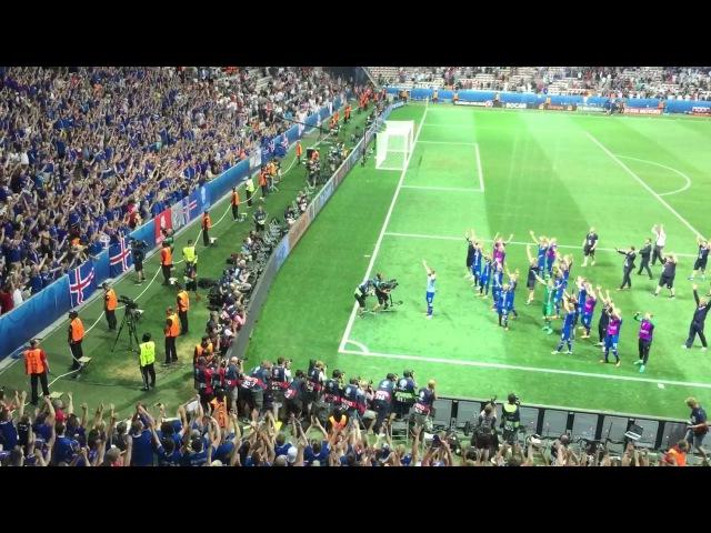 Англия : Исландия 1:2 Последние секунды и победное