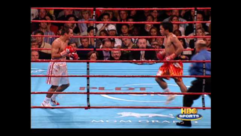 How powerful is manny pacquiaos left?