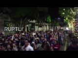 США: «Ебать Дональд Трамп» - Сотни марш в Лос-Анджелесе против нового президента.