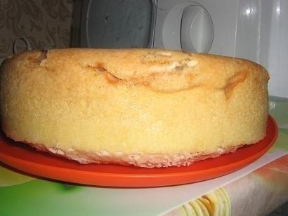 Бисквит с яблоками рецепт в мультиварке