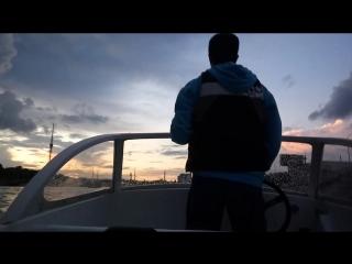 Небольшие видеозарисовки с прогулки на катере