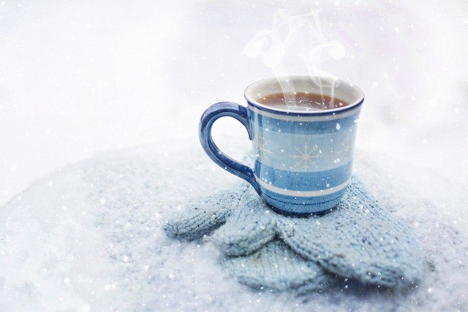 Теплая чашка в холодный день: 18 фото для скачивания