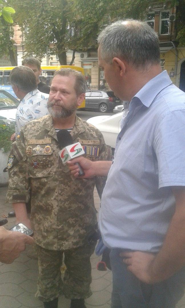 Ветераны Иловайского котла в Одессе поругали власть