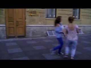 2014 год) Уличные танцы в Питерреее