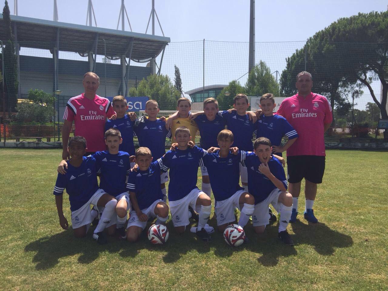 Воспитанники академии «Реал Мадрид – ДГТУ» повторили прошлогодний успех на турнире «Альма 2016»