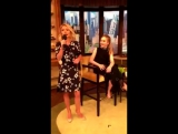 Сабрина Карпентер на ток-шоу «Live! with Kelly and Michael». — 13.06.16 (не вошедшие в программу)
