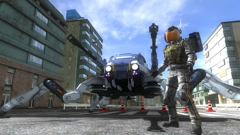 Earth Defense Force 4.1: The Shadow of New Despair (2016) PC - Скриншот 1