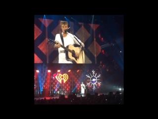 Justin Bieber - Fast Car Live @ Jingle Ball 2016, Los Angeles