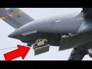 USAF Planes Drop Humvees and Paratroopers - C-17 Globemaster/C-130 Hercules