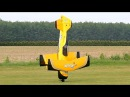 PITTS M12 PYTHON HUGE RC SCALE MODEL FLIGHT WITH FAILED LANDING Pitts Meeting Vechta Germany 2016