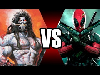LOBO VS DEADPOOL | BATALHA MORTAL | Ei Nerd