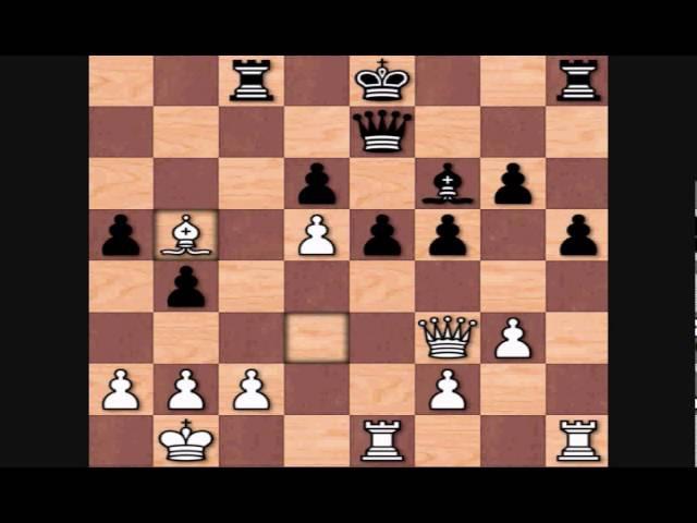 Rashid Gibiatovich Nezhmetdinov vs Tigran Vartanovich Petrosian, 1954 Kiev