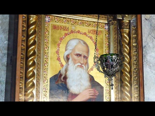 Крым,Бахчисарайский район.Пещерный мужской монастырь Саввы Освящённого.Crimea Russia