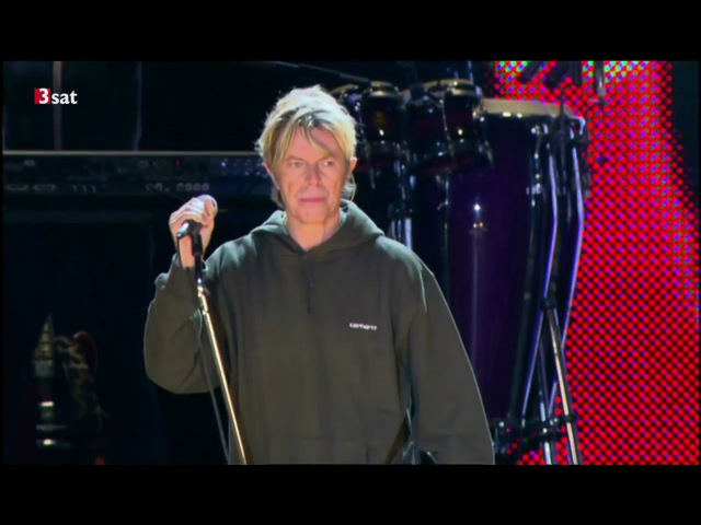 David Bowie - I'm afraid of Americans [ HD ] Retrospective of the Hurricane 2016