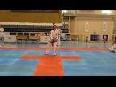 태권도 Saju-Makgi pattern by DPRK Taekwon-do ITF demo team / Саджу-Маки
