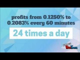 BitMinister - profits from 0.1250% to 0.2083% every 60 minutes, 24 times a day