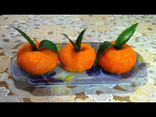 Закуска Мандаринки Закуска из Плавленных Сырков Mandarin Snack Простой Рецепт Очень Вкусно