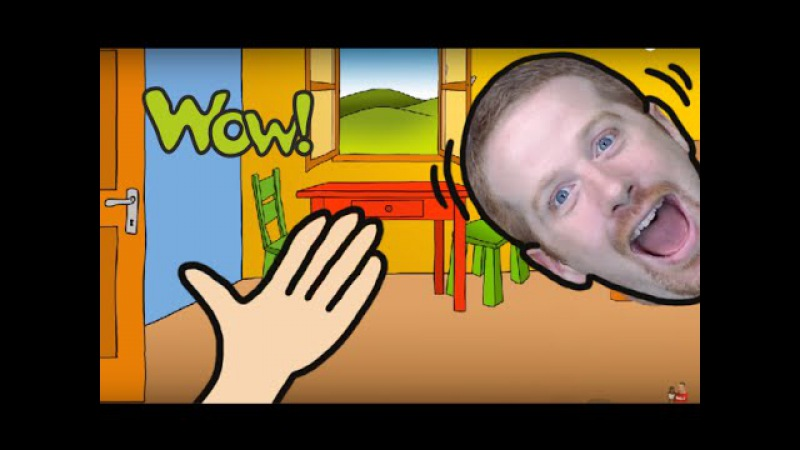 Body Parts for Kids | Steve and Maggie | English for Children | Story for Kids