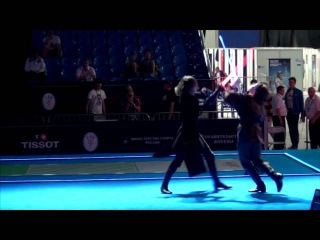 Звёздные Войны на Чемпионате Мира по фехтованию (со звуками световых мечей). Школа Саберфайтинга