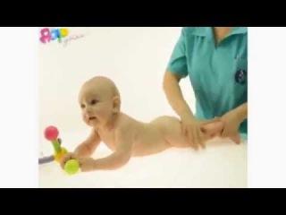 Массаж для детей 6-9 месяцев