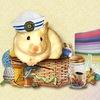 ♥♥ Сундучок хомячка ♥♥ Равномерка. Мулине.
