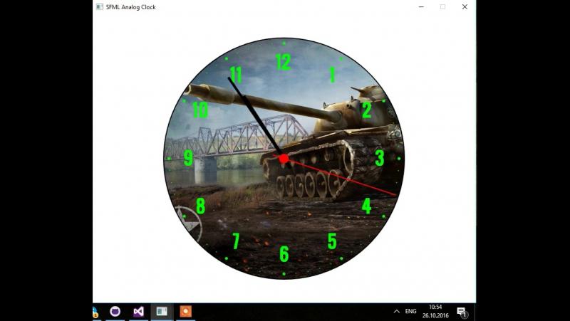 SFML Analog Clocks