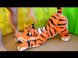 TKUK - Small tiger inflate, ride & deflate