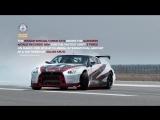 Nissan GT-R вошел в дрифт на 300 км/ч