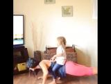Тренировка на все тело в формате игры с ребёнком