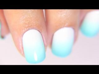 10 секретов ⭐ Как сделать идеальный градиент (омбре) на ногтях ⭐