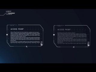 UXBERT High Tech Sci-Fi UX Dashboards, Infographics, Visual UI Elements