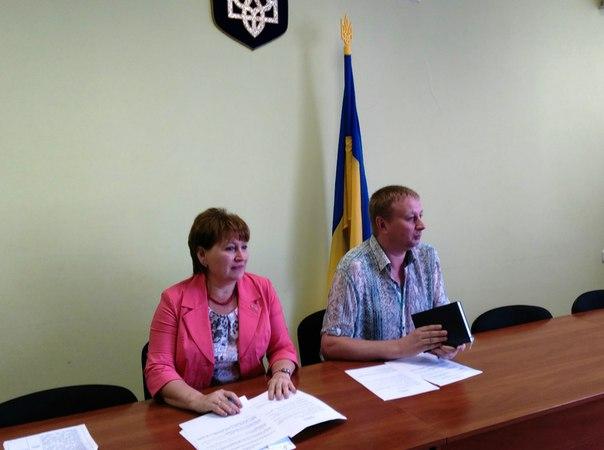Перший заступник  голови Печенізької райдерадміністрації Никитченко М.А провів апаратну нараду