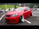 (HD)NISSAN FUGA VIPCAR modified 日産フーガカスタム赤 - Zeal杯2016 DRESS-UP CAR SHOW in JAPAN