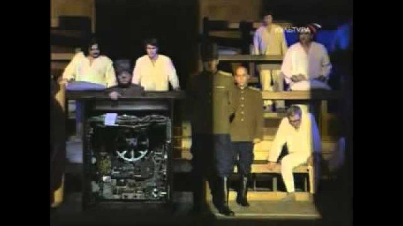 Спектакль, театр на Таганке, Ю.П. Любимов, 2001 год, Шарашка (А. Солженицын)