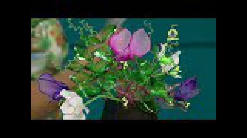 Vida com Arte | Flor ervilha de cheiro por Junko Miazato - 21 de Novembro de 2015