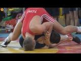 Ringen int. Brandenburg-Cup 2014 Kadetten (Gr./Rö.) - 69kg 1/2 Finale