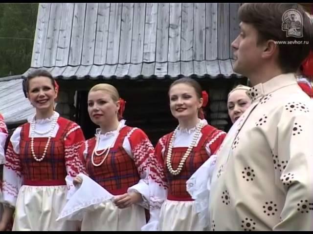 Народная сцена «Северная барабушка», пост. И. Меркулова, муз. обр. Б. Туровника