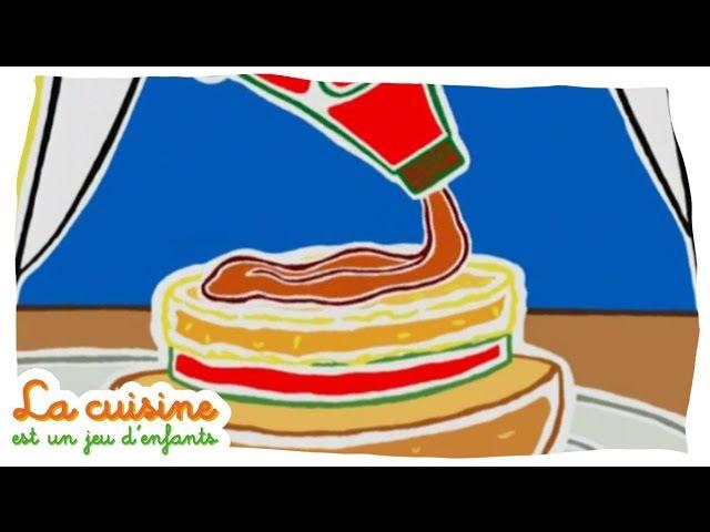 Hamburger de poisson - La cuisine est un jeu d'enfants
