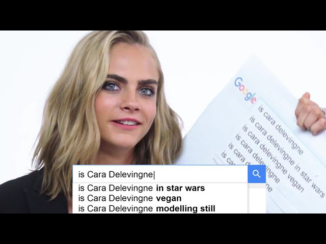 Cara Delevingne Answers the Web's Most Searched Questions | WIRED