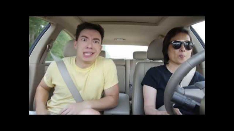 Танцы в машине с мамой