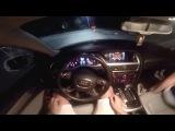 Покатушки #2 -Гонки по ночному городу между Chevrolet aveo и Audi a4.
