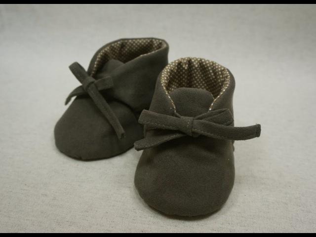 清秀佳人布坊 手作教學 綁帶小短靴的作法