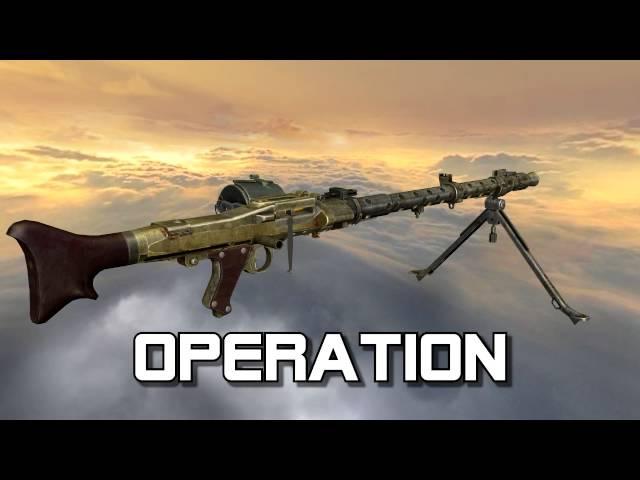 MG 34 (Maschinengewehr 34 full disassembly and operation)