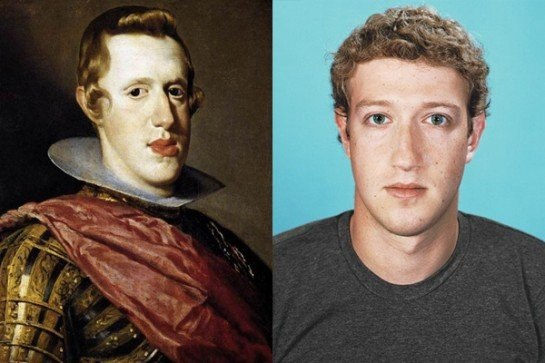 Марк Цукерберг и Филипп IV