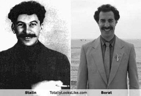 Иосиф Сталин и Борат
