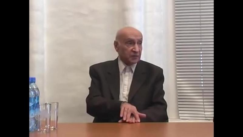 2009 05 16 - беседа с Артёмом Яковлевичем Карапетяном, Москва ч.5