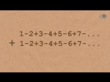 Невероятно! 1 + 2 + 3 + 4 + 5 + . = -112