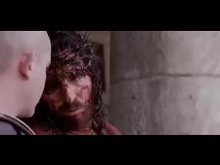 Нужно посмотреть всем это было ради тебя и вместо тебя за все твои грехи чтобы спасти тебя от вечных мук и подарить тебе ве