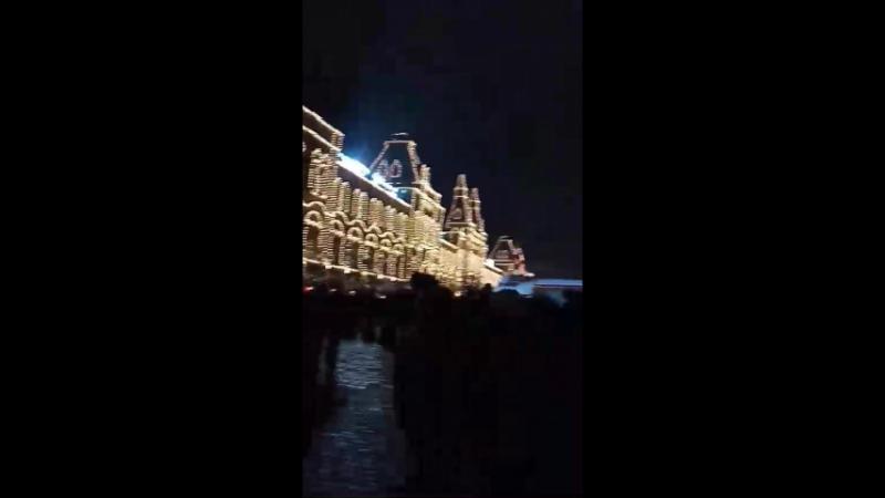 Звон колоколов на Красной Площади.